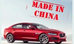 La Jaguar XE sera produite en Chine