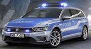 La police allemande reçoit une Volkswagen Passat GTE