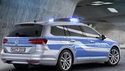 Passat GTE, la Polizei à l'hybride rechargeable