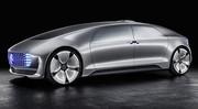 CES 2015 : Mercedes F 015 Concept
