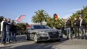 Jack, une Audi A7 automatisée, emmène des journalistes à Las Vegas