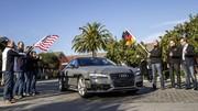 Une Audi roule 900 km sans conducteur !