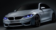 BMW M4 Concept Iconic Lights 2015 : Laser et OLED au programme