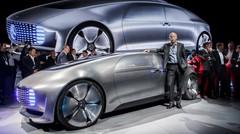 A Las Vegas, Mercedes réinvente la berline de voyage