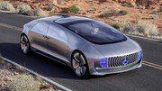 Mercedes F015 Luxury in Motion : L'Automobile 2.0
