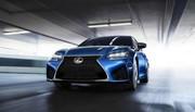 Lexus GS F : en première à Detroit