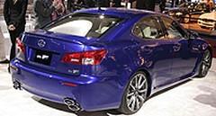 Lexus IS-F : Une quatre portes à dégainer