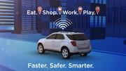 Au CES 2015, l'automobile rime avec laser, OLED et 4G
