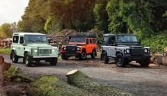 3 éditions du Land Rover Defender pour clore le dossier