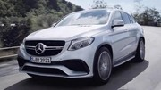 Mercedes tease le GLE 63 AMG Coupé