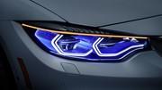 CES 2015 : Eclairage nouvelle génération pour la BMW M4 IconicLights