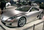 Lexus LF-A : Un concept avant la série