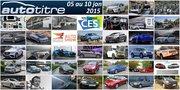Les titres de l'actualité auto du 05 au 10 janvier 2015