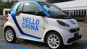 Car2go aussi en Chine