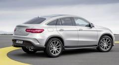 Le Mercedes GLE Coupé déjà boosté par AMG !