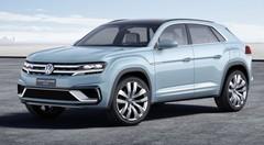 Volkswagen Cross Coupé GTE Concept 2015 : en mode hybride rechargeable à Detroit