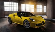 Alfa Romeo 4C Spider : la version définitive à Detroit