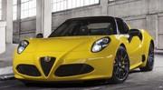 Alfa Romeo décapsule la 4C !
