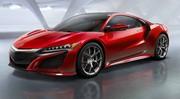 Acura NSX 2015 : La super-hybride Honda (enfin !) au Salon de Detroit