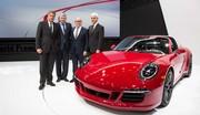 Porsche 911 Targa 4 GTS (2015) : premières photos officielles