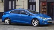 La Chevrolet Volt progresse en tout pour 2016