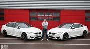 Essai BMW M3 vs BMW M4