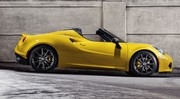 Alfa Romeo présente officiellement le 4C Spider