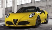 L'Alfa Romeo 4C enlève le haut