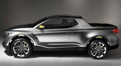 Hyundai présente l'étonnant pick-up urbain Santa Cruz Crossover Truck Concept