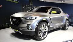Hyundai Santa Cruz concept : un crossover pour les aventuriers urbains