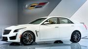 Cadillac CTS-V 2016 : 640 chevaux lâchés à Detroit !