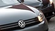 Ventes : Toyota d'une courte tête devant Volkswagen en 2014