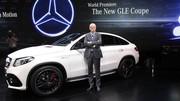 Mercedes GLE Coupé (2015) en direct de Detroit