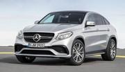 Mercedes GLE 63 AMG Coupé : jusqu'à 585 ch !