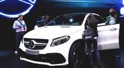 Detroit: le Mercedes GLE Coupé en veut au BMW X6 Detroit