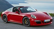 Porsche offre le blason GTS à sa 911 Targa 4