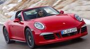 Voici l'éclectique Porsche 911 Targa 4 GTS