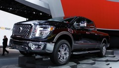 Detroit 2015 : nouveau pick-up Nissan Titan