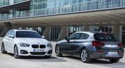 BMW Série 1, restylage bien visible