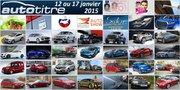 Les titres de l'actualité auto du 12 au 17 janvier 2015