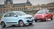 Essai Renault Twingo et Fiat 500 : la vengeance dans Lapo