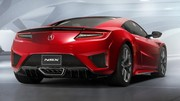 La Honda NSX sous sa forme définitive