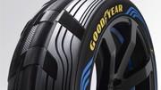 Goodyear présente un concept de pneu à double empreinte