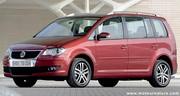 Volkswagen met plein gaz naturel