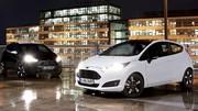 Ford Fiesta et Ka Black & White : Smoking de rigueur