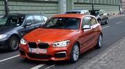 BMW : la M135i restylée déjà dans la rue
