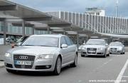 A Davos, les Audi roulent au Shell GTL