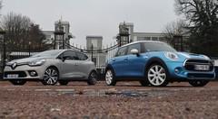 Essai Mini Cooper 5 portes vs Renault Clio 4 Initiale Paris : J'veux du cuir
