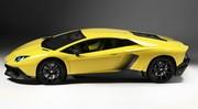 La Lamborghini Aventador SV se fait surprendre sur route ouverte