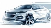 Hyundai Tucson : première esquisse